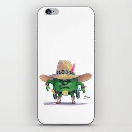 Pea Shooter iPhone Skin
