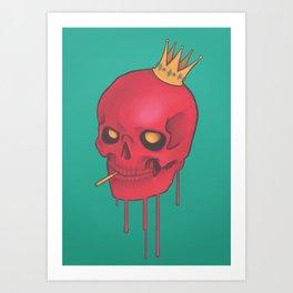Pink n' Gold Art Print