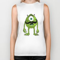 mike wrobel Biker Tanks featuring Mike by Satanoncrack