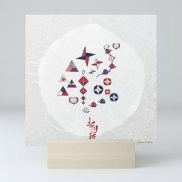 Origami (折り紙) Mini Art Print