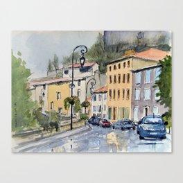 Quai de Pouzadou Canvas Print