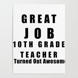 Teacher Posters | Society6