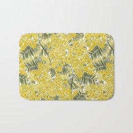 Yellow Mimosa Bath Mat