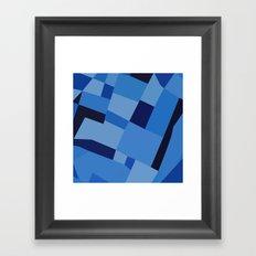 Peckham Blue 45 Framed Art Print