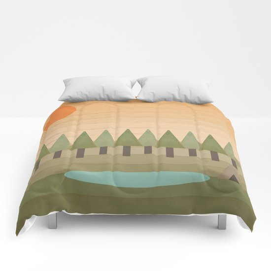 Camping Out Comforters