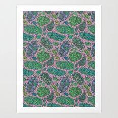 Nugs in Color Art Print