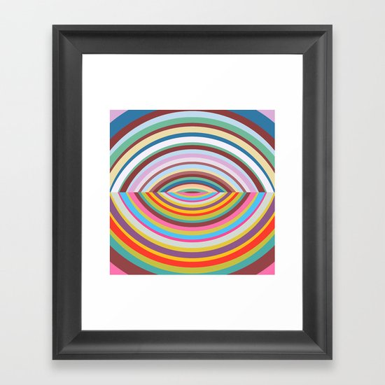 Shapes #41 Framed Art Print