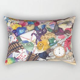 Alice's Objects Rectangular Pillow