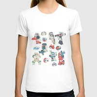 transformer T-shirts featuring Minibots by confinedclone