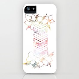 Good Vibes This Way iPhone Case
