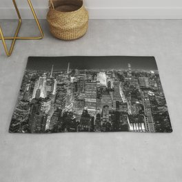 New York City Skyline II Rug