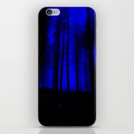 fantasy forest at night iPhone Skin