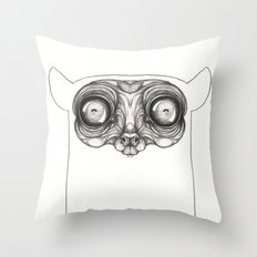 Nocturnal Throw Pillow