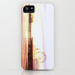 Santa Monica Pier Sunrise iPhone Case