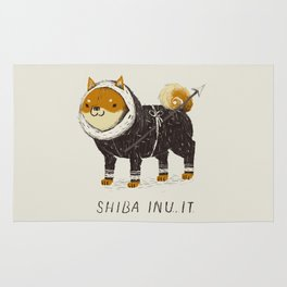 shiba inu-it Rug