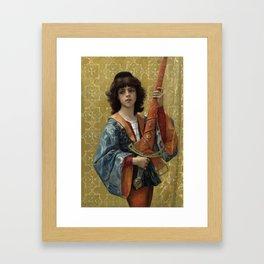 Alexandre Cabanel - A Page 1881,,, Framed Art Print