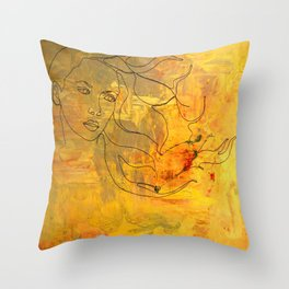 Hausos Throw Pillow