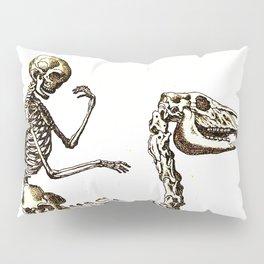 Horse Skeleton & Rider Pillow Sham