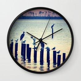 Evening Peace Wall Clock