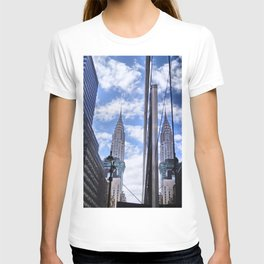 Chrysler Building Reflections in Midtown T-shirt