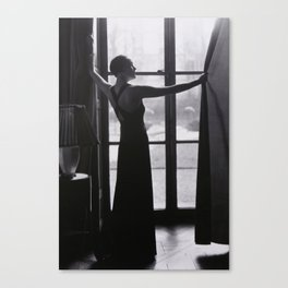 Manray Window Canvas Print