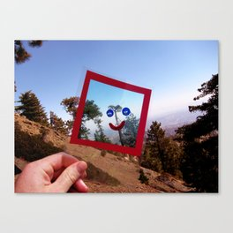 Nature Faces - Tree Waving Goodbye Canvas Print
