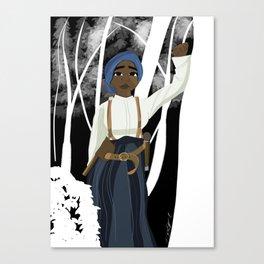 Harriet Tubman painting Canvas Print
