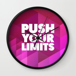 Push Your Limits Wall Clock