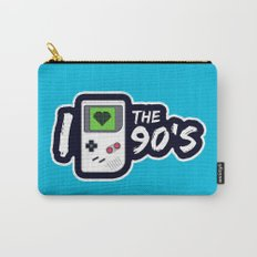 I Heart the 90's Carry-All Pouch