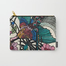 """""""Bird of Paradise"""" by Margaret Preston Carry-All Pouch"""