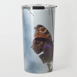 Mountain Butterfly Travel Mug