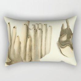 Naturalist Coral Rectangular Pillow