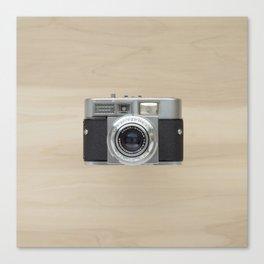 voigtlander vitomatic II - vintage camera  Canvas Print