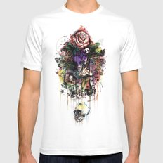 Fauna and Flora White MEDIUM Mens Fitted Tee
