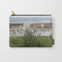 Flowers At The Seashore Carry-All Pouch