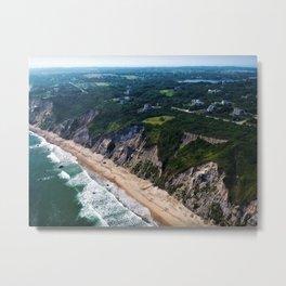Hidden Beaches of Block Island, Rhode Island - New England's Hidden Gem Metal Print