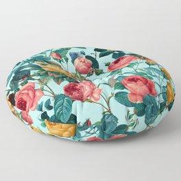 Spring-Summer Botanical Pattern II Floor Pillow