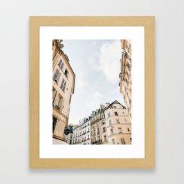 Paris Streets Framed Art Print