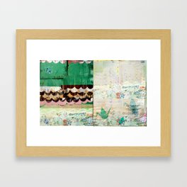 Paper Crane City Framed Art Print