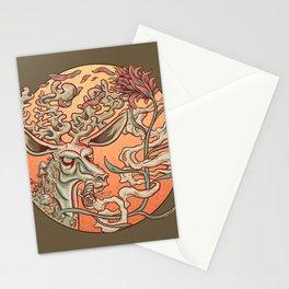 Deer Smoke & Indian Paintbrush Stationery Cards