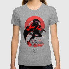 small Mountains red Grass T-shirt
