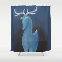 Winter Spirit Shower Curtain
