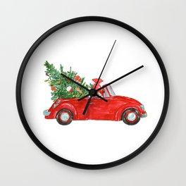 Christmas Car Wall Clock