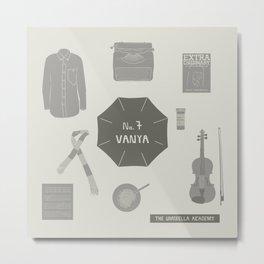 no.7 vanya Metal Print