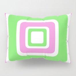 Rhapsody in PinkGreen Pillow Sham