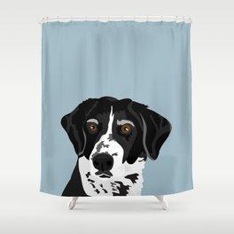 Riley Hound Shower Curtain