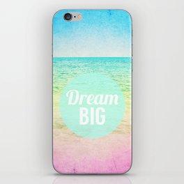 Dream Big iPhone Skin
