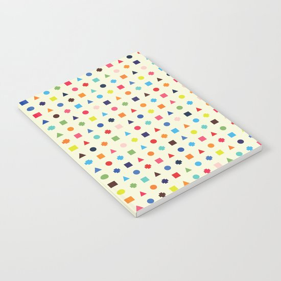 Dot Triangle Square Plus Repeat Notebook