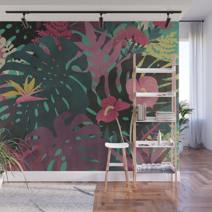 Tropical Tendencies Wall Mural