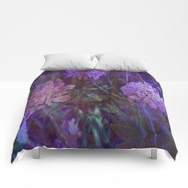 sea flowers Comforters